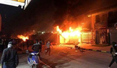 عامل آتش زدن کنسولگری ایران در نجف + عکس