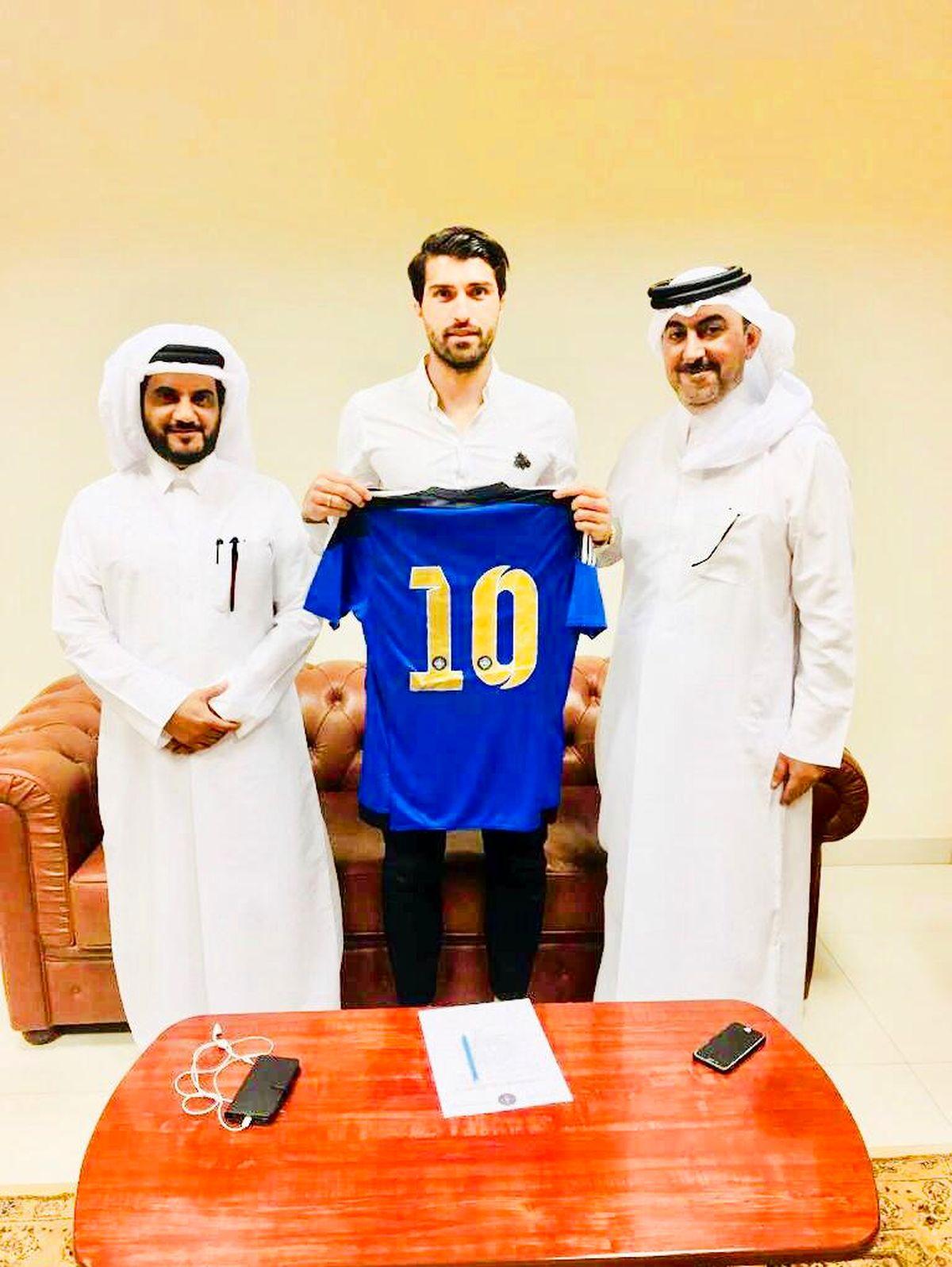 مهاجم پرسپولیسی تیم ملی به قطر رفت + عکس