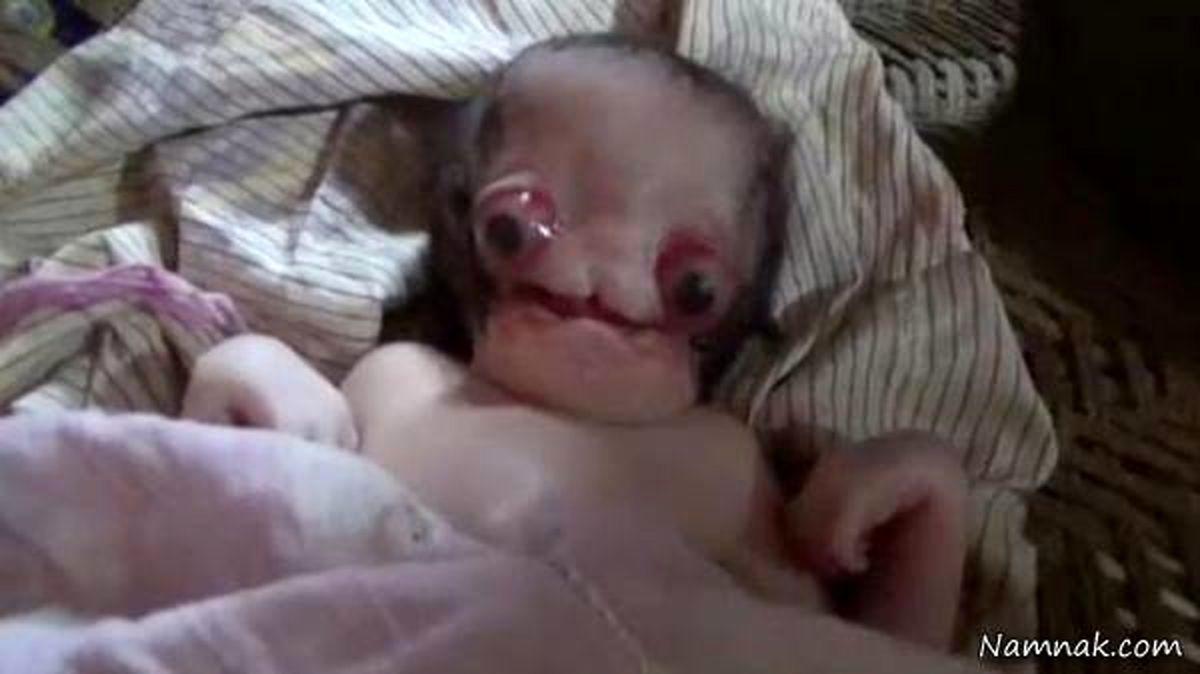 فیلم +18 از ترسناک ترین و عجیب ترین نوزاد دنیا   فیلم دیده نشده