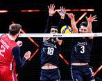 شکست تلخ تیم ملی والیبال مقابل صربستان