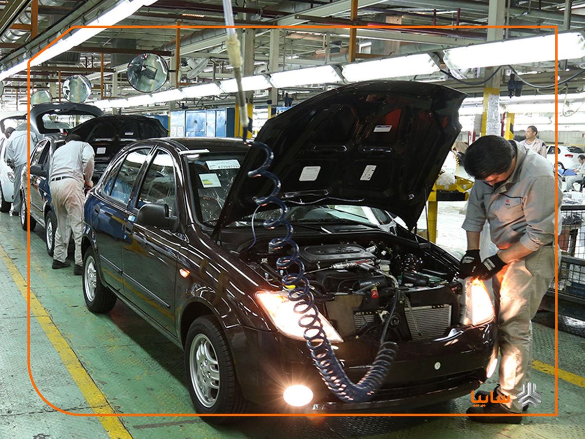 سایپا بیشترین تیراژ تولید خودرو کشور در خرداد ۹۹ را ثبت کرد