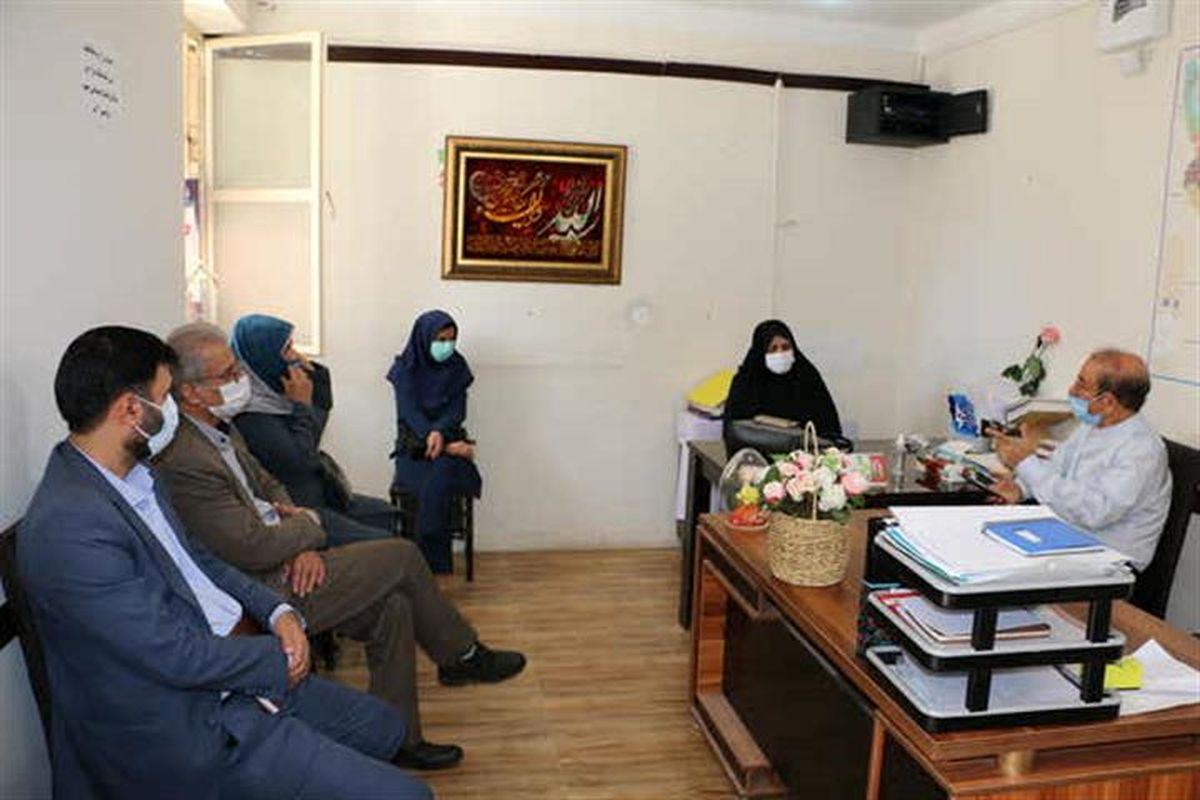 دیدار مدیرکل تامین اجتماعی همدان با نماینده مردم نهاوند در مجلس شورای اسلامی