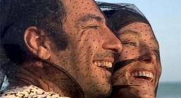 مراسم عقدکنون نوید محمدزاده و فرشته حسینی + عکس