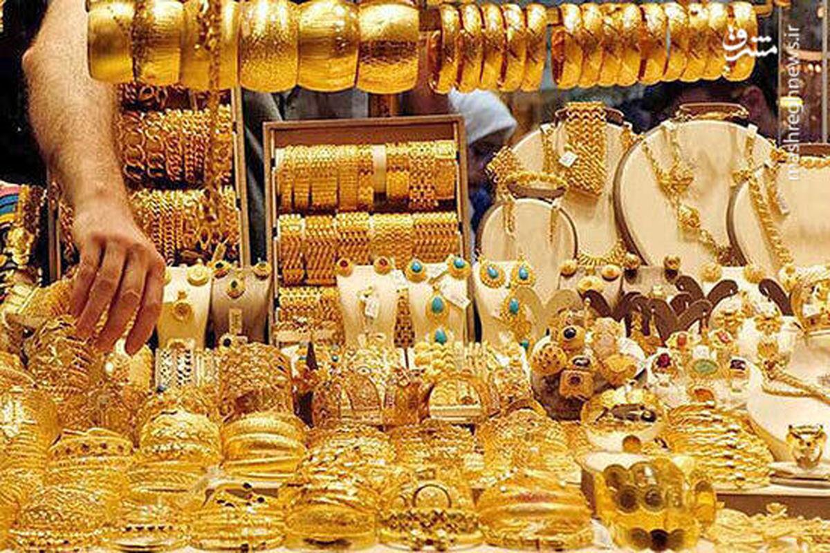 استفاده آهن با نرخ طلا در جواهرفروشی های معروف فاش شد