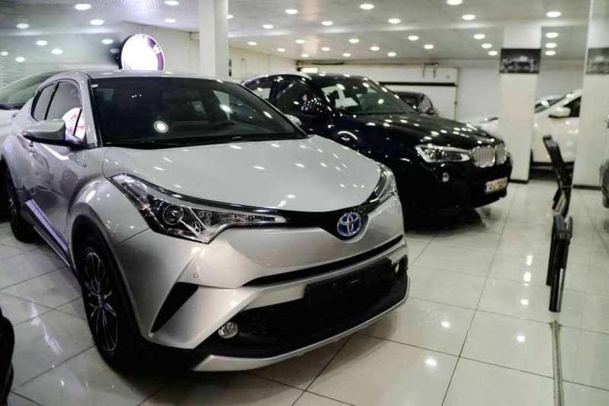 آخرین قیمت خودرو خارجی 13 تیر + جدول