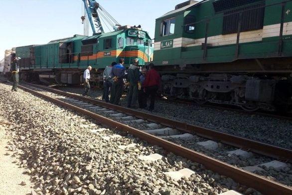 خروج یک قطار مسافربری از ریل در مسیر زاهدان به تهران