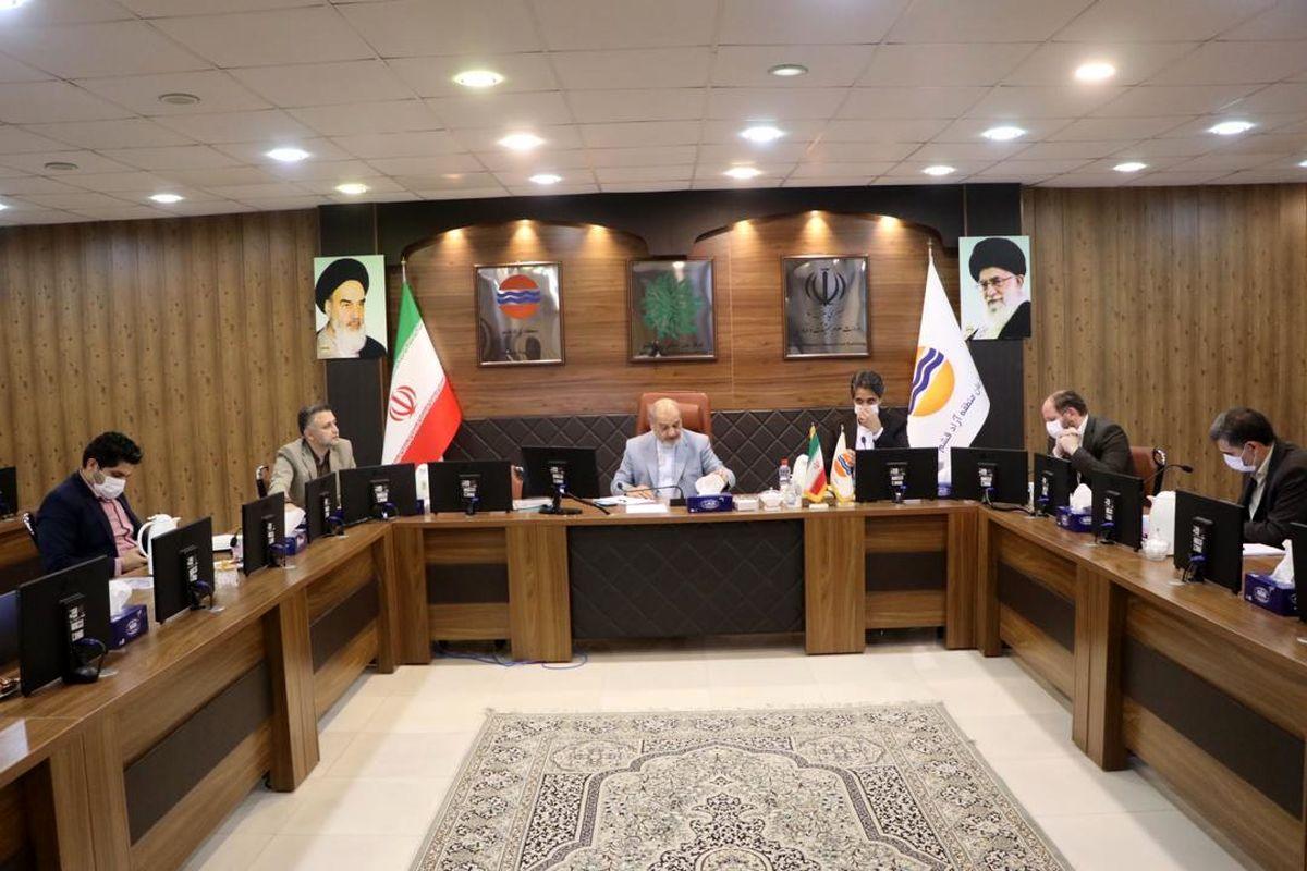 سیزدهمین نشست شورای هماهنگی اقدامات پسا کرونا منطقه آزاد قشم برگزار شد