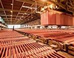 تولید 110 هزار تن کاتد مس طی 5 ماهه نخست امسال