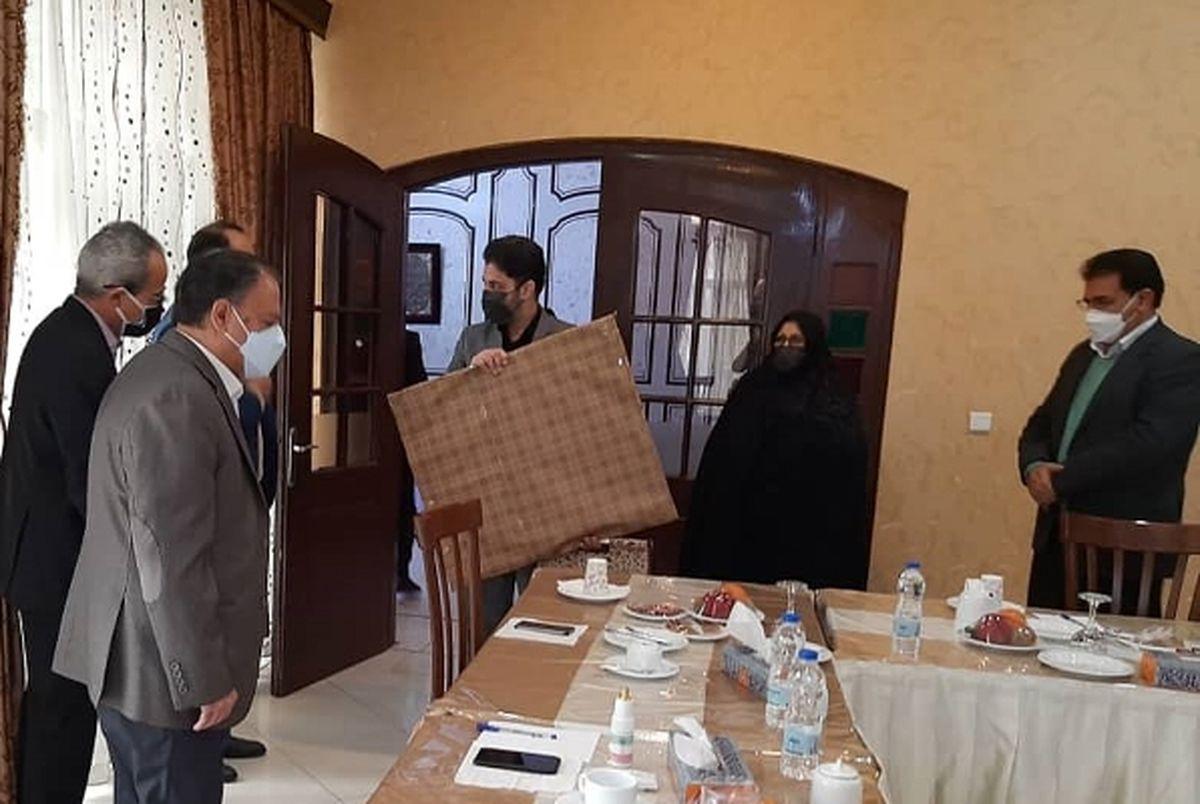 تجلیل از مقام شامخ خانواده شهید سرلشگر خلبان بیک محمدی
