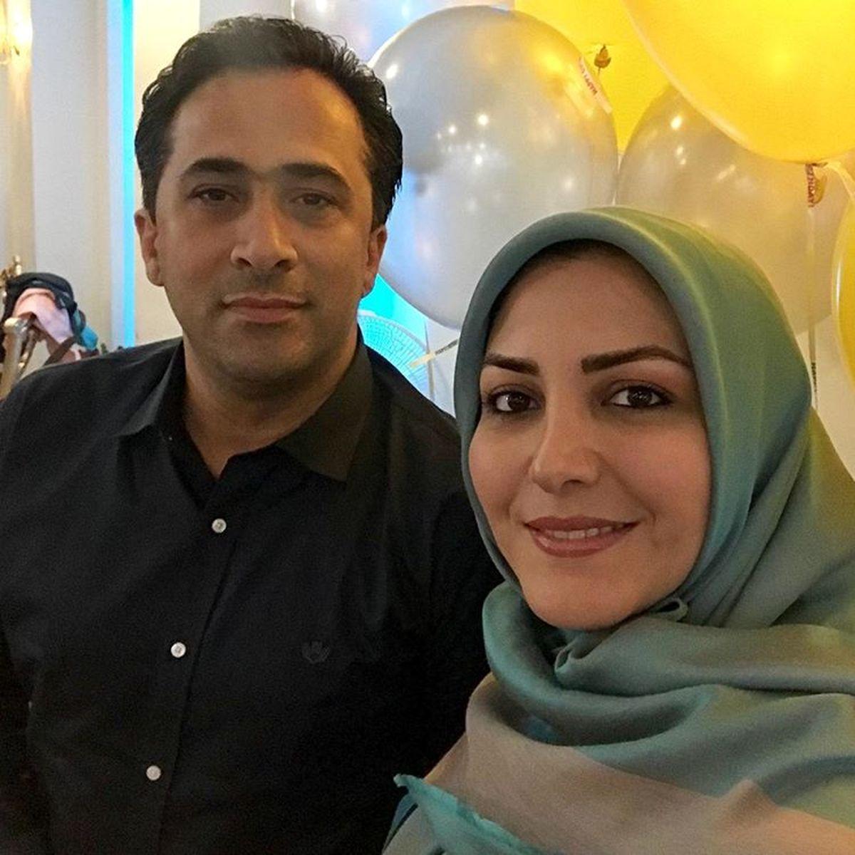 عاشقانه های المیرا شریفی مقدم و همسرش + عکس