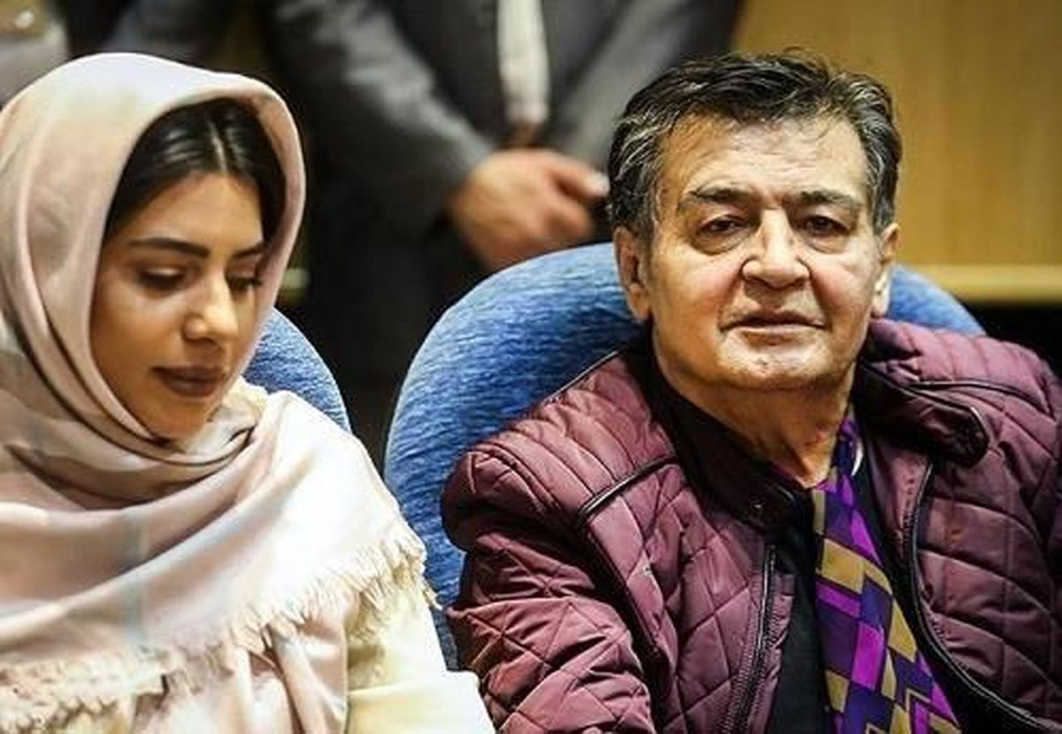 رضا رویگری و همسر جوانش   عکس