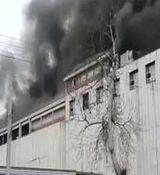 آتش سوزی وحشتناک در مجتمع الماس شرق + فیلم