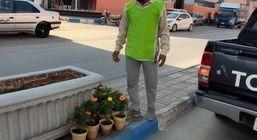 آغاز کاشت گل های فصلی در خیابان ها، میادین و پارک های شهر درگهان