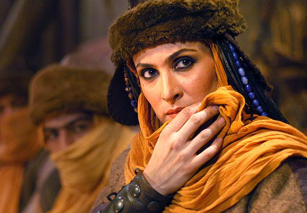 جام نیوز :: JamNews - عکس/ گریم بازیگر زن مشهور در نقش دراکولا