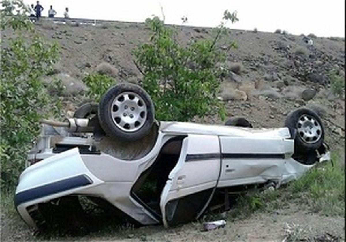 مرگ ۵ نفر براثر واژگونی پژو درخوزستان