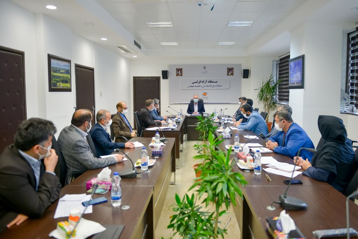 حرکت منطقه آزاد انزلی در ریل توسعه و همکاری همه جانبه با کشور های همسایه