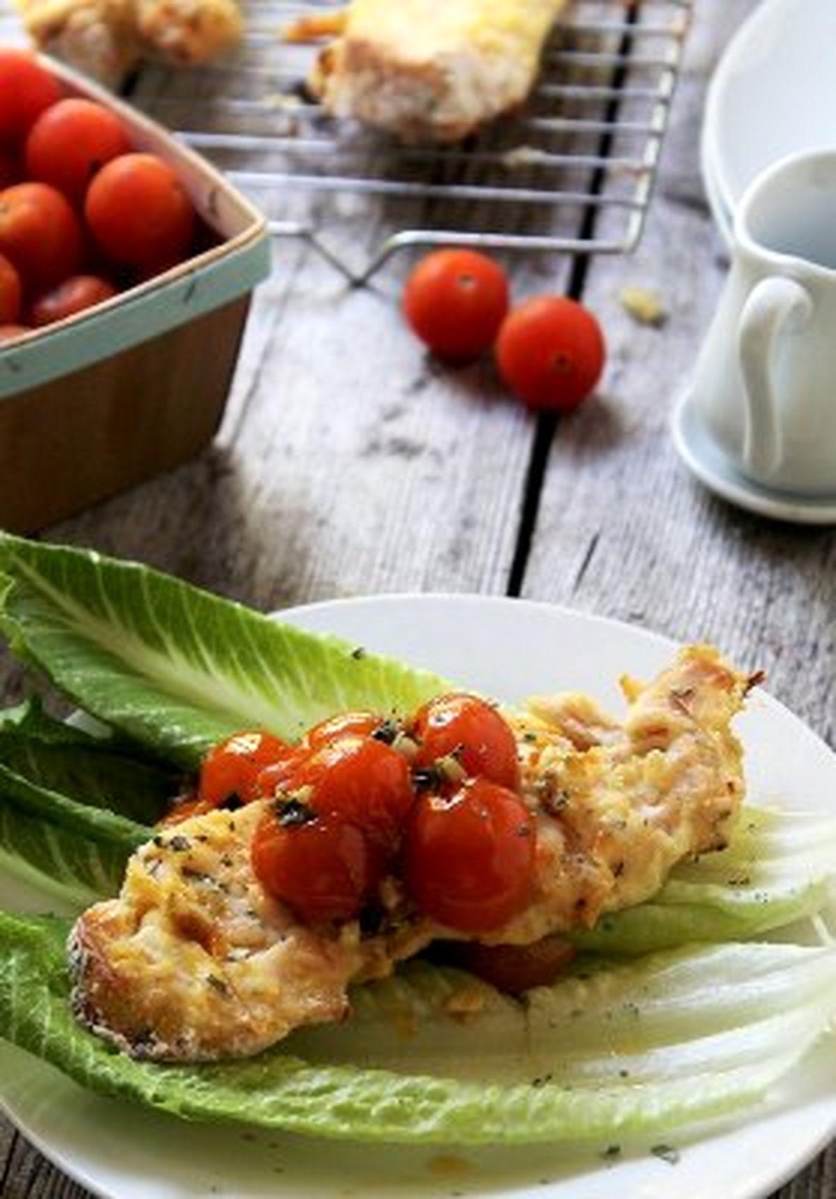 طرز تهیه آسان  کتلت مرغ کرسپی با گوجه