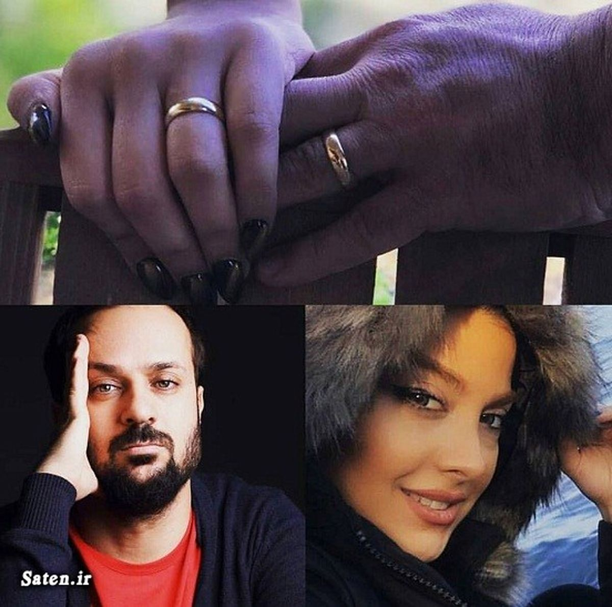 عکس جنجالی از مراسم ازدواج احمد مهران فر و همسرش + تصاویر و بیوگرافی
