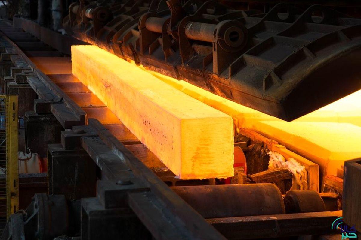 عرضه ۱۵۶ هزار تن شمش بلوم در بورس کالا
