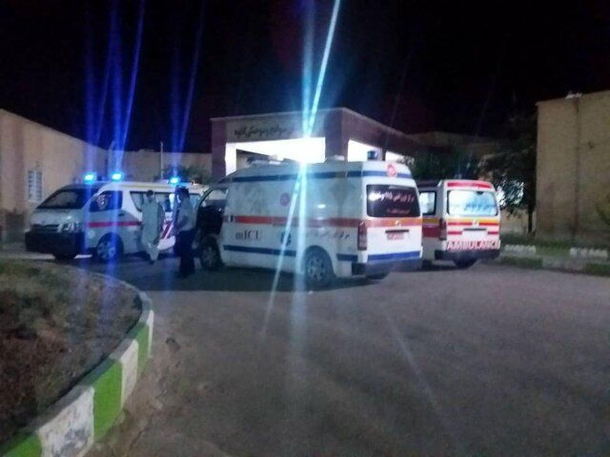وضعیت مصدومان حادثه پتروشیمی خارگ