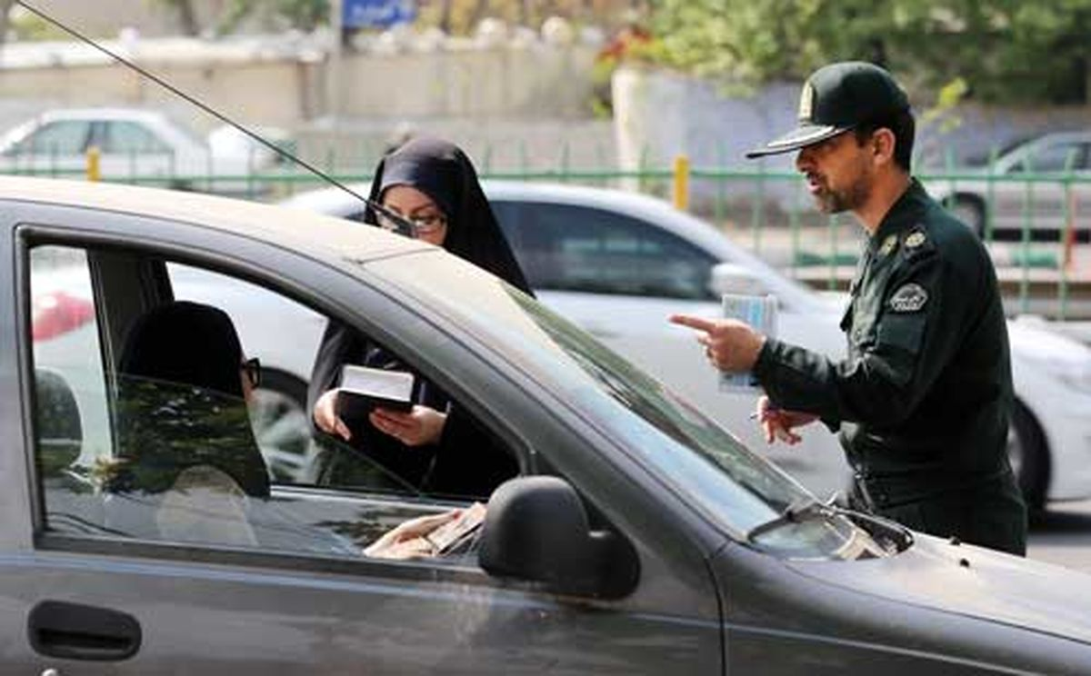 اولتیماتوم جدی پلیس به مردم درمورد بی حجابی در خودرو ها