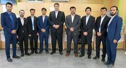 بازدید رییس هیات مدیره بانک قرض الحسنه مهر ایران از شعب استان بوشهر