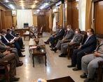 تشکیل جلسه مشترک استاندار با مدیران ارشد گهرزمین