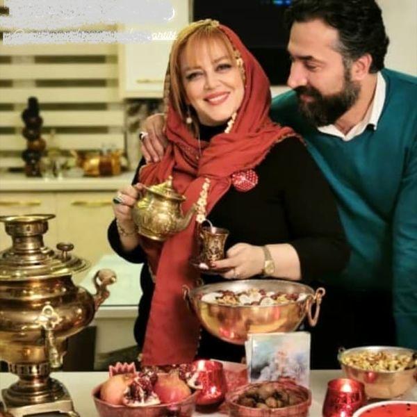 عکس عاشقانه بهاره رهنما و همسرش | نشان آنلاین
