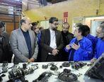 بازدید مدیر عامل ایران خودرو از مراحل طراحی و تولید نخستین نمونه گیربکس شش سرعته