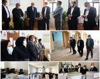 بازدید مدیرعامل سازمان منطقه آزاد قشم از مدارس شهر قشم