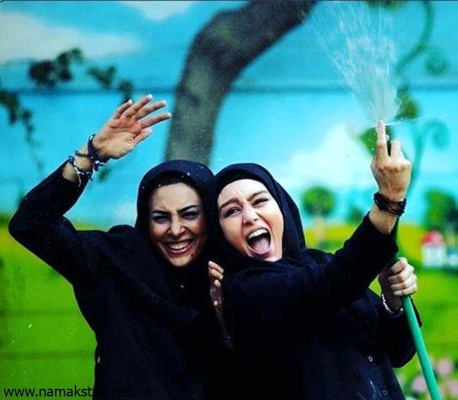 هدی زین العابدین و سحر قریشی