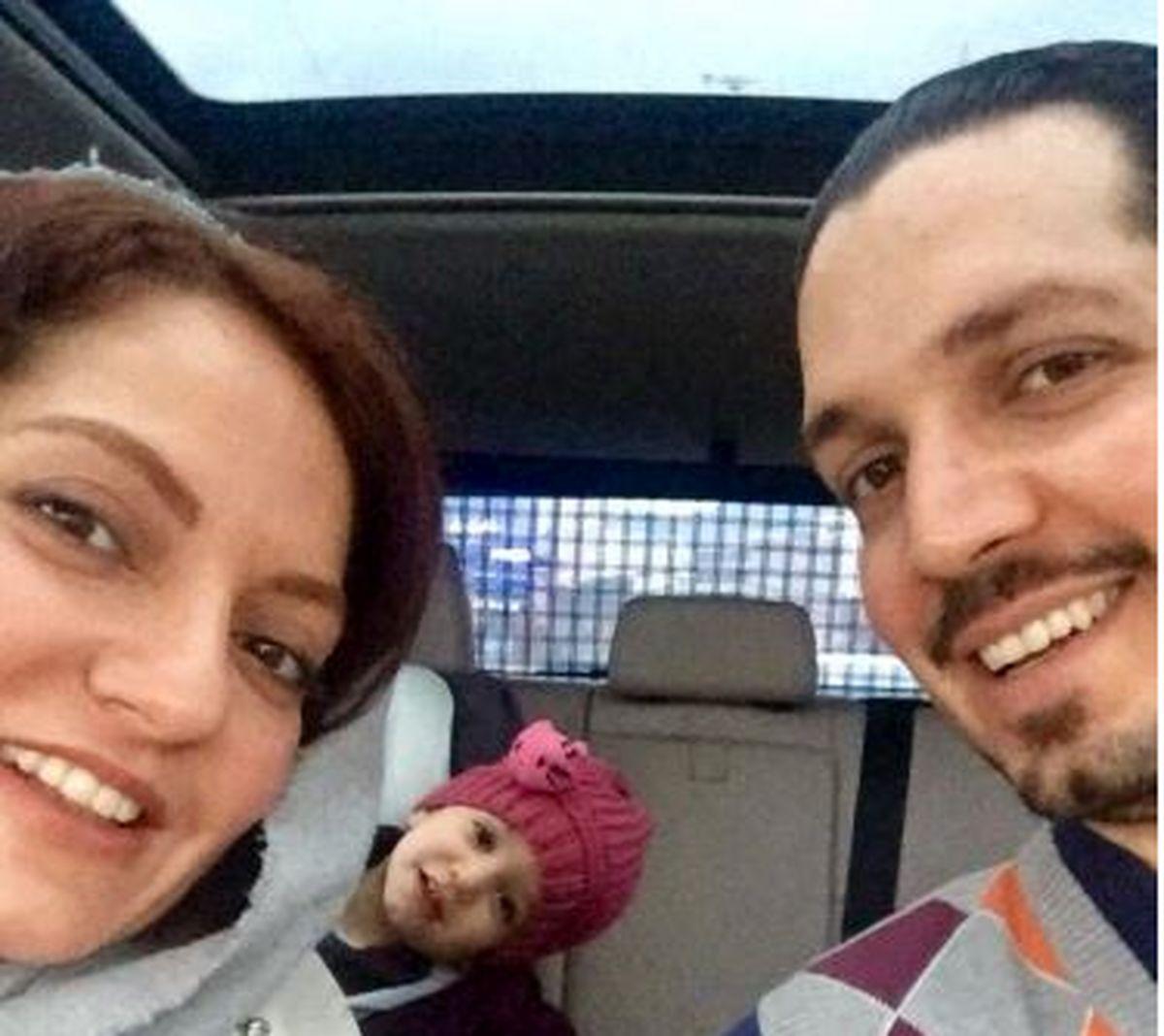 نامه ناراحت کننده مادر شوهر مهناز افشار برای تولد نوه اش + عکس