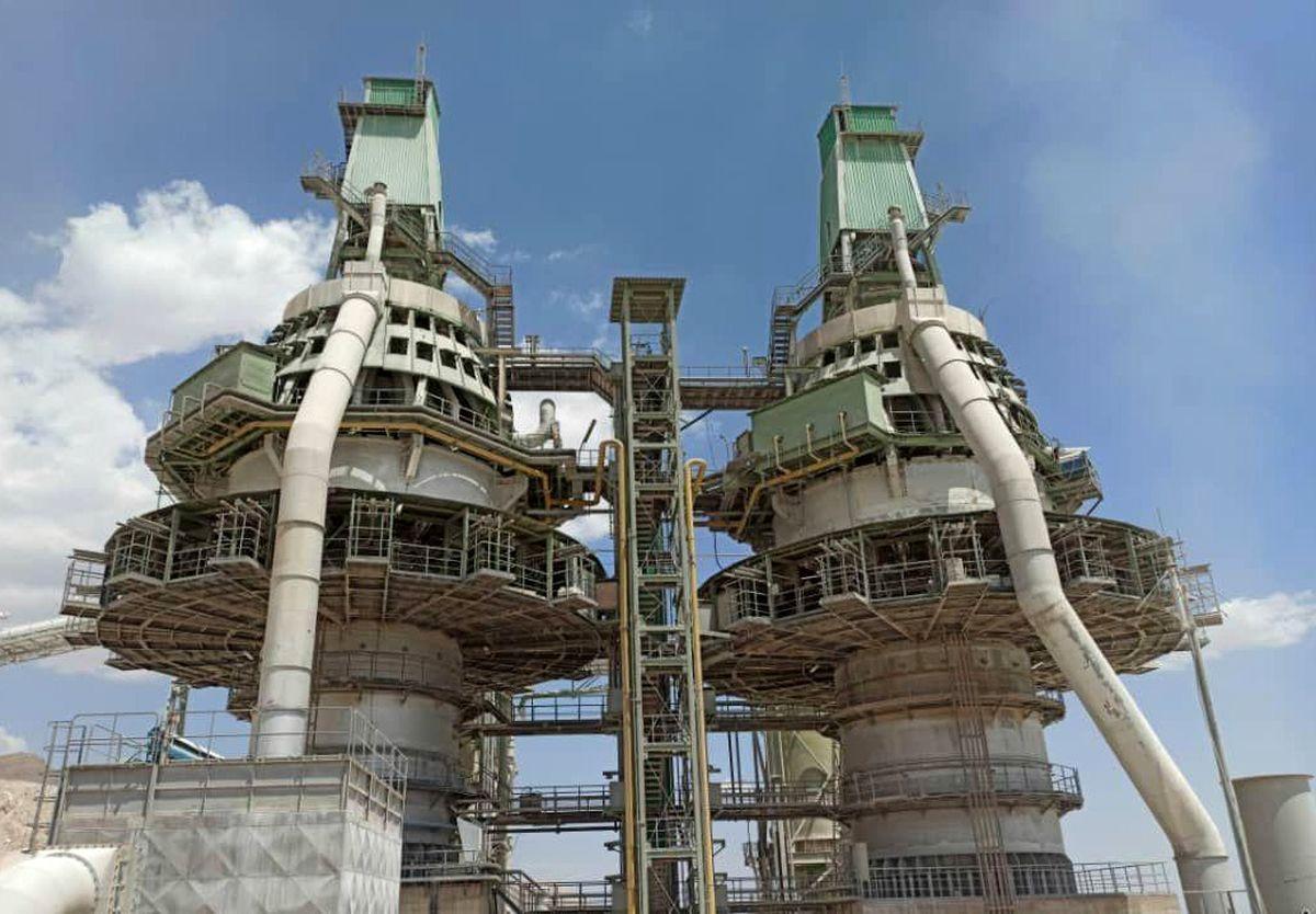 ثبت رکورد جدید در واحد آهکسازی شرکت فولاد سنگ مبارکه اصفهان