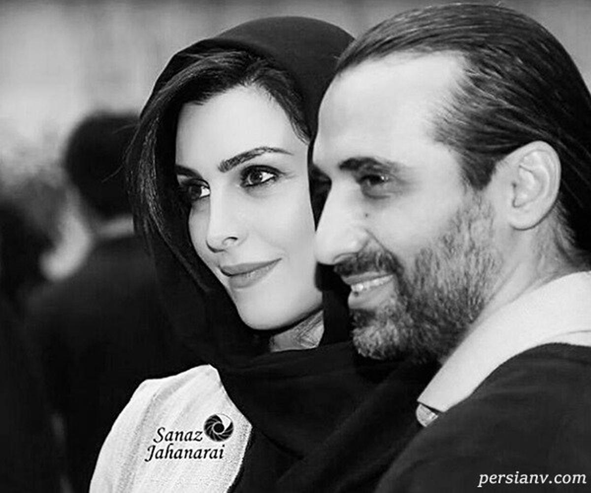 ابراهیم اشرفی بر سر مزار ماه چهره خلیلی + عکس