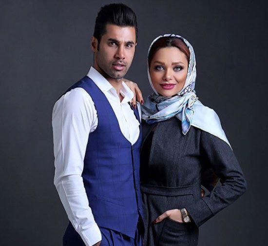 عکس و فیلم های جنجالی و لو رفته از مراسم ازدواج محسن فروزان و همسرش