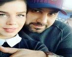 عکس لورفته و جنجالی از احسان خواجه امیری  و همسرش در خارج + عکس و بیگرافی