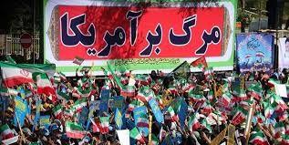 راهپیمایی ۱۳ آبان در شهرستان لنگرود + تصاویر