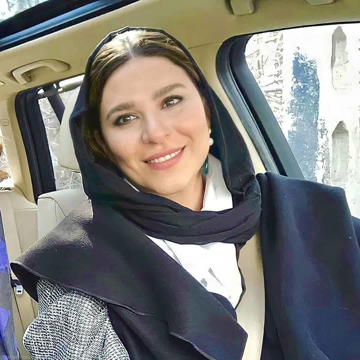 ژست عجیب سحر دولتشاهی در سریال می خواهم زنده بمانم + عکس