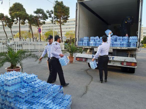 ارسال محمولههای جدید حاوی کمکهای کارکنان بانک ملی ایران به سیل زدگان