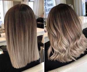 بهترین ترکیب رنگ موهای زیبا و پرطرفدار تیره و روشن + تصاویر