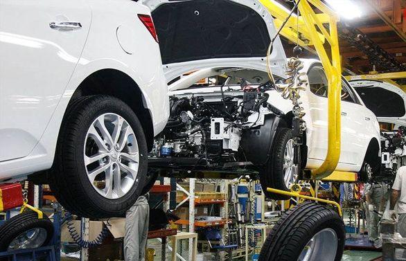 تداوم افت تولید در خودروسازیخصوصی + جزئیات
