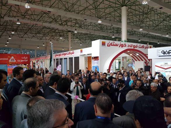 حضور قدرتمند فولاد خوزستان در سمپوزیوم فولاد