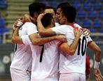 نتیجه بازی فوتسال ایران و چین