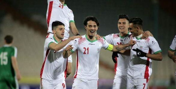 نتیجه بازی تیم ملی امید ایران و ترکمنستان