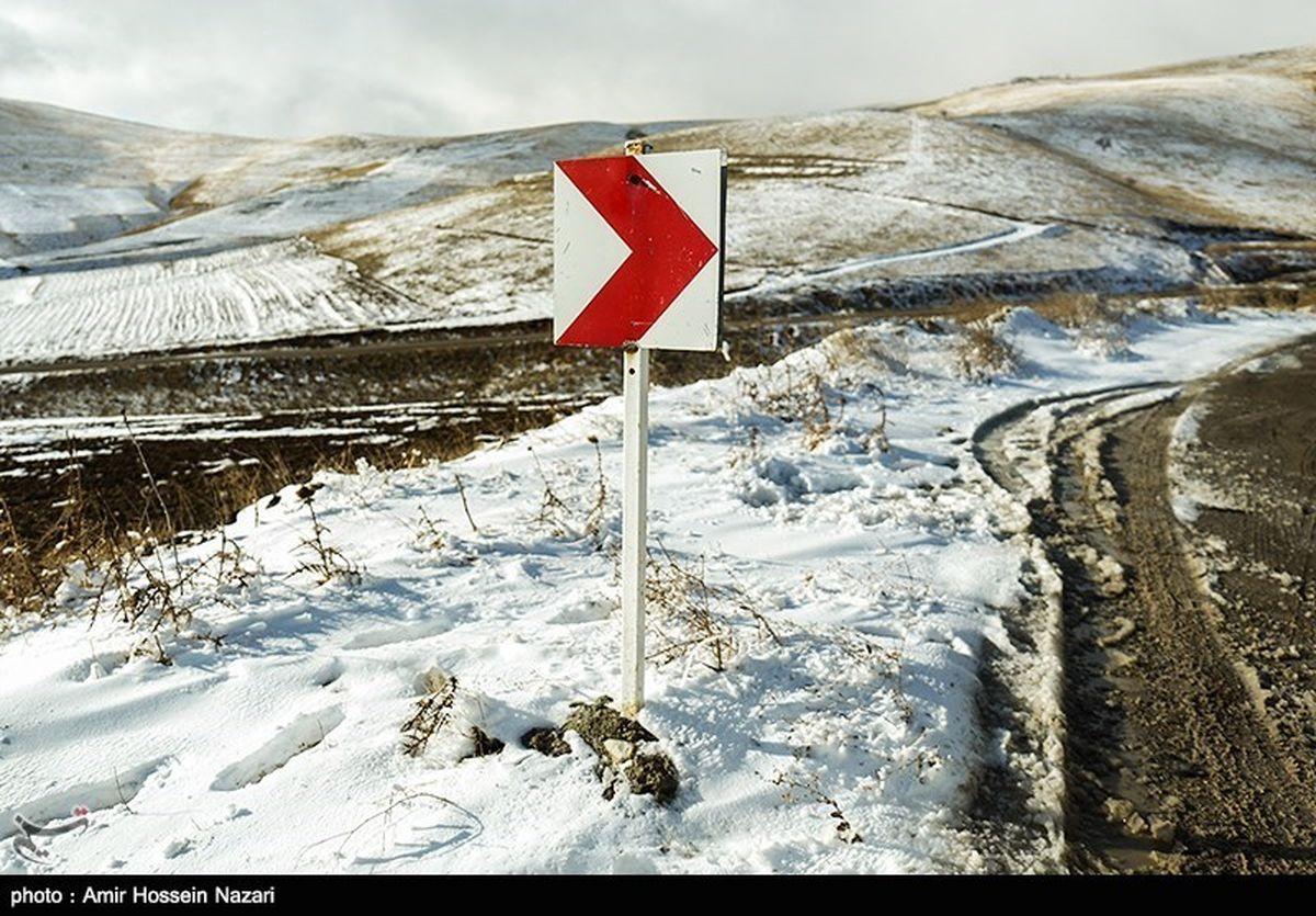 برف و باران در ۲۵ استان تا سه شنبه