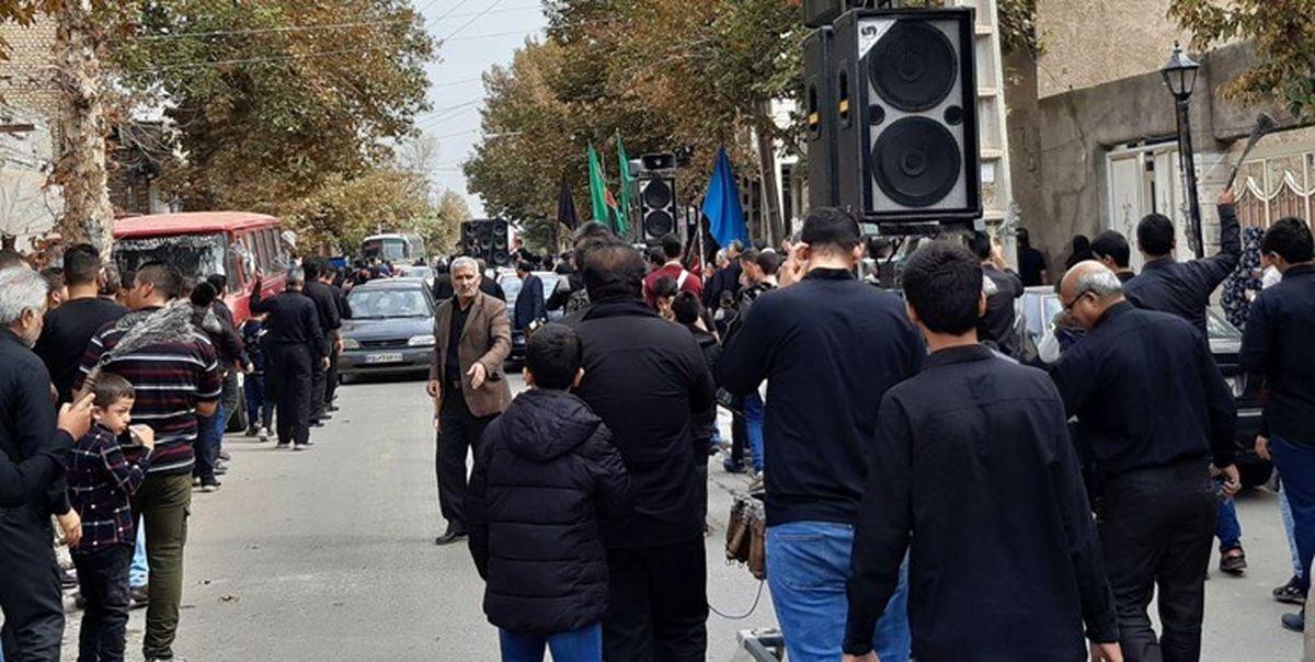 حرکت دستههای عزادار تهران به سمت میدان فلسطین/ تجمع؛ ساعت ۱۵