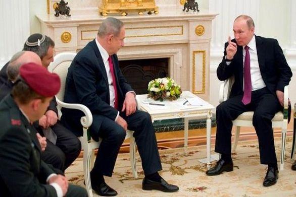 جزئیات دیدار پوتین و نتانیاهو