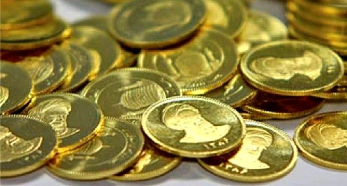عقبنشینی قیمت سکه