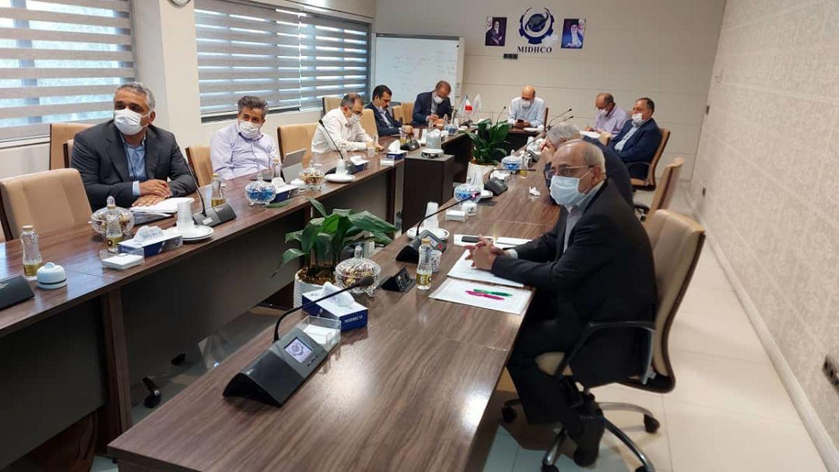 یکصد و سی و یکمین جلسه تولید شرکت میدکو برگزار شد