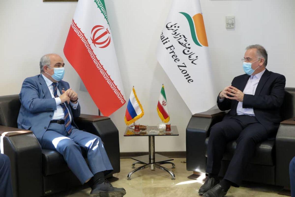 توسعه روابط دو کشور با محوریت منطقه آزاد انزلی